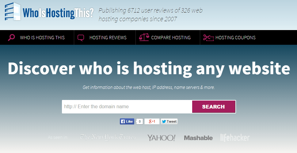 Who-is-hosting-this