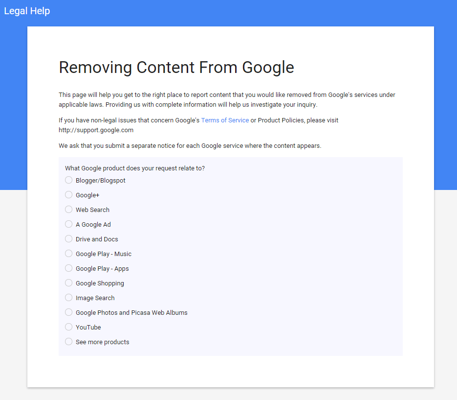 removing-content-from-google
