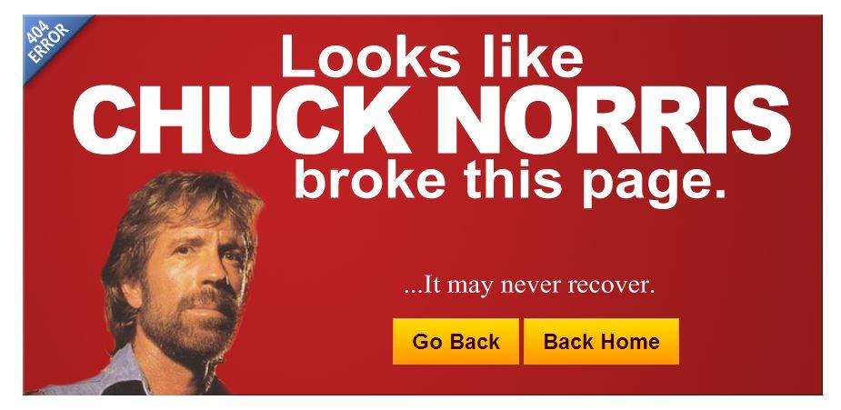 Γιατί ο Chuck Norris είναι μόνο ένας!