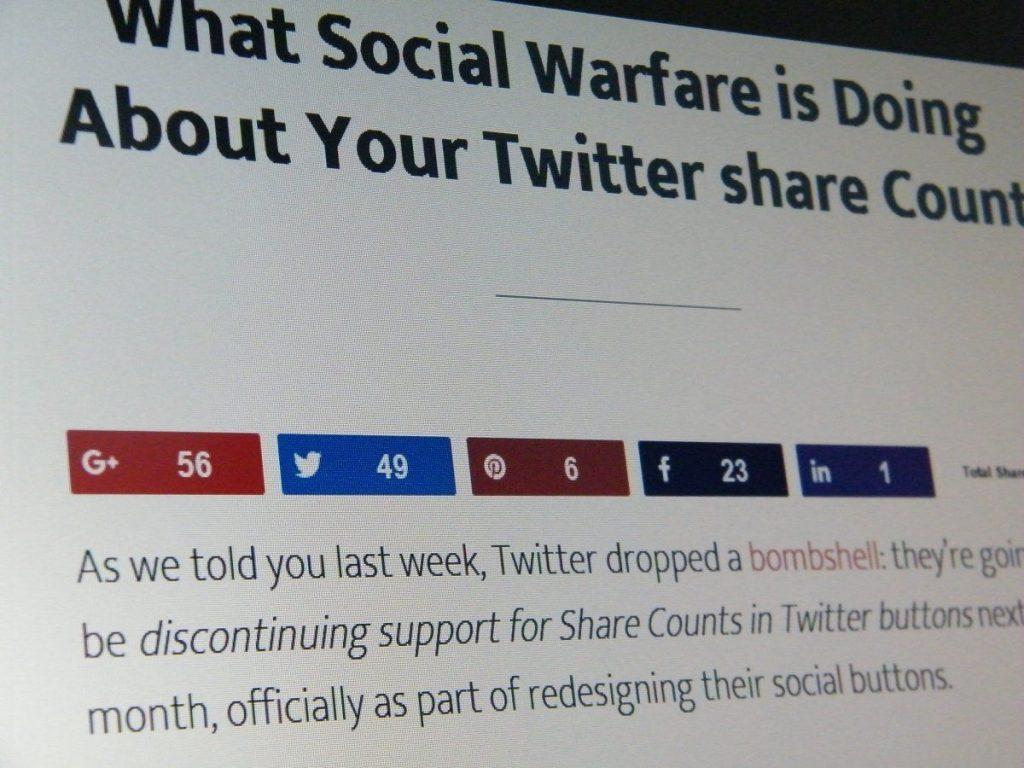 Το Social Warfare είναι το social sharing plugin που έψαχνες τόσο καιρό