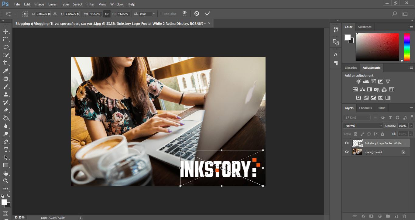 Inkstory - Adobe Photoshop CC