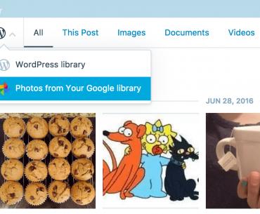 Το WordPress.com ενσωμάτωσε το Google Photos