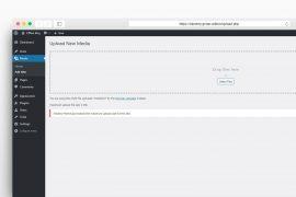 Πως να αυξήσεις το μέγιστο μέγεθος μεταφόρτωσης αρχείων στο WordPress