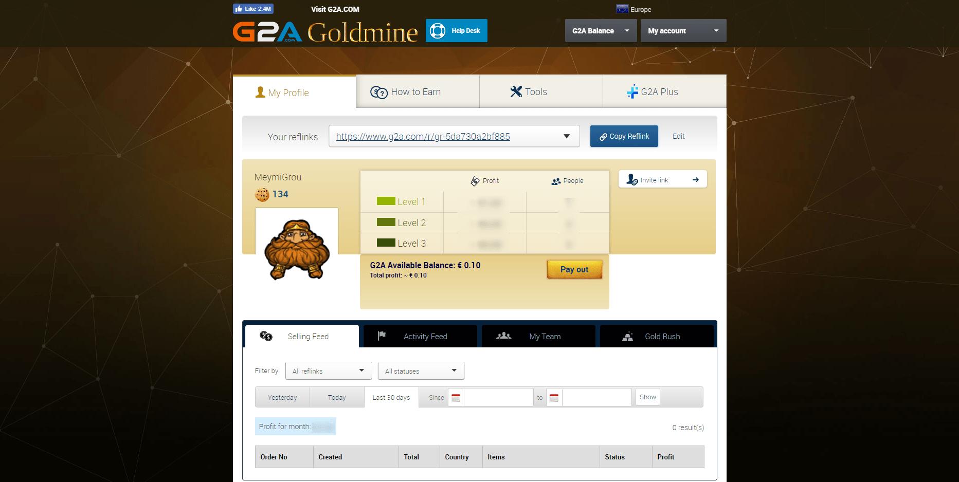 Πως να βγάλεις χρήματα από το G2A.com