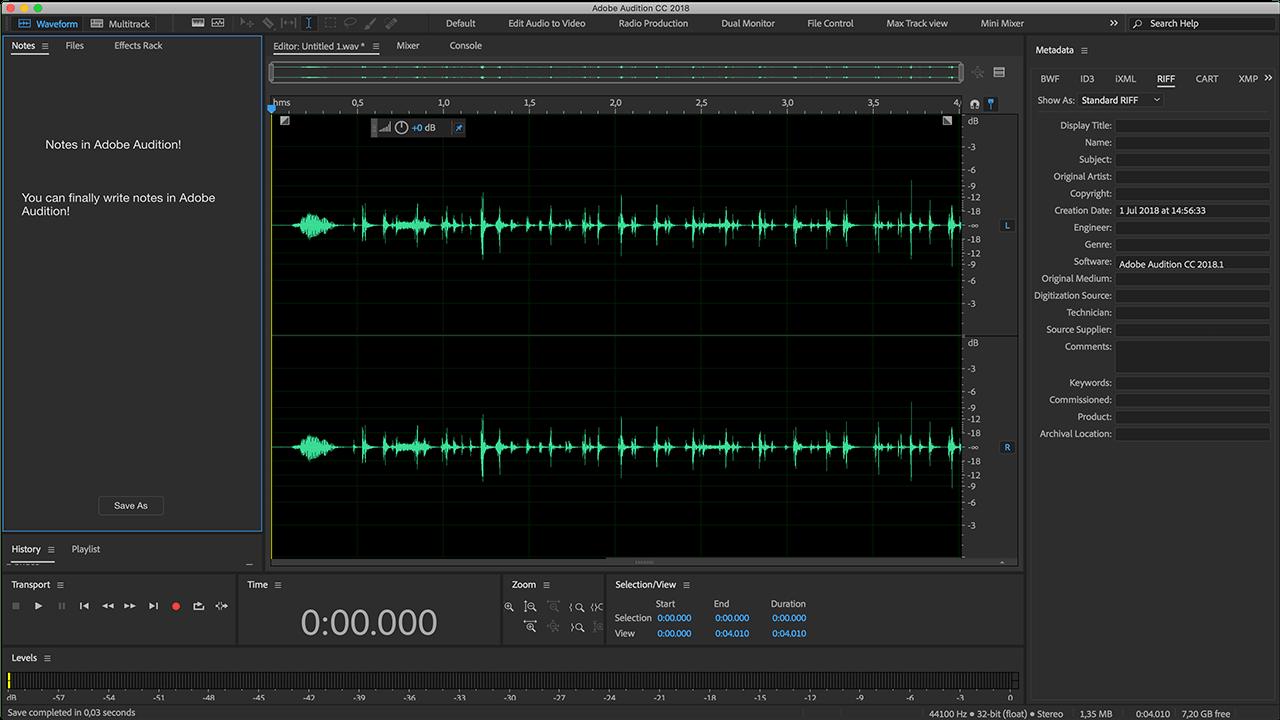 Adobe Audition - Τα καλύτερα προγράμματα για επεξεργασία μουσικής και ήχου