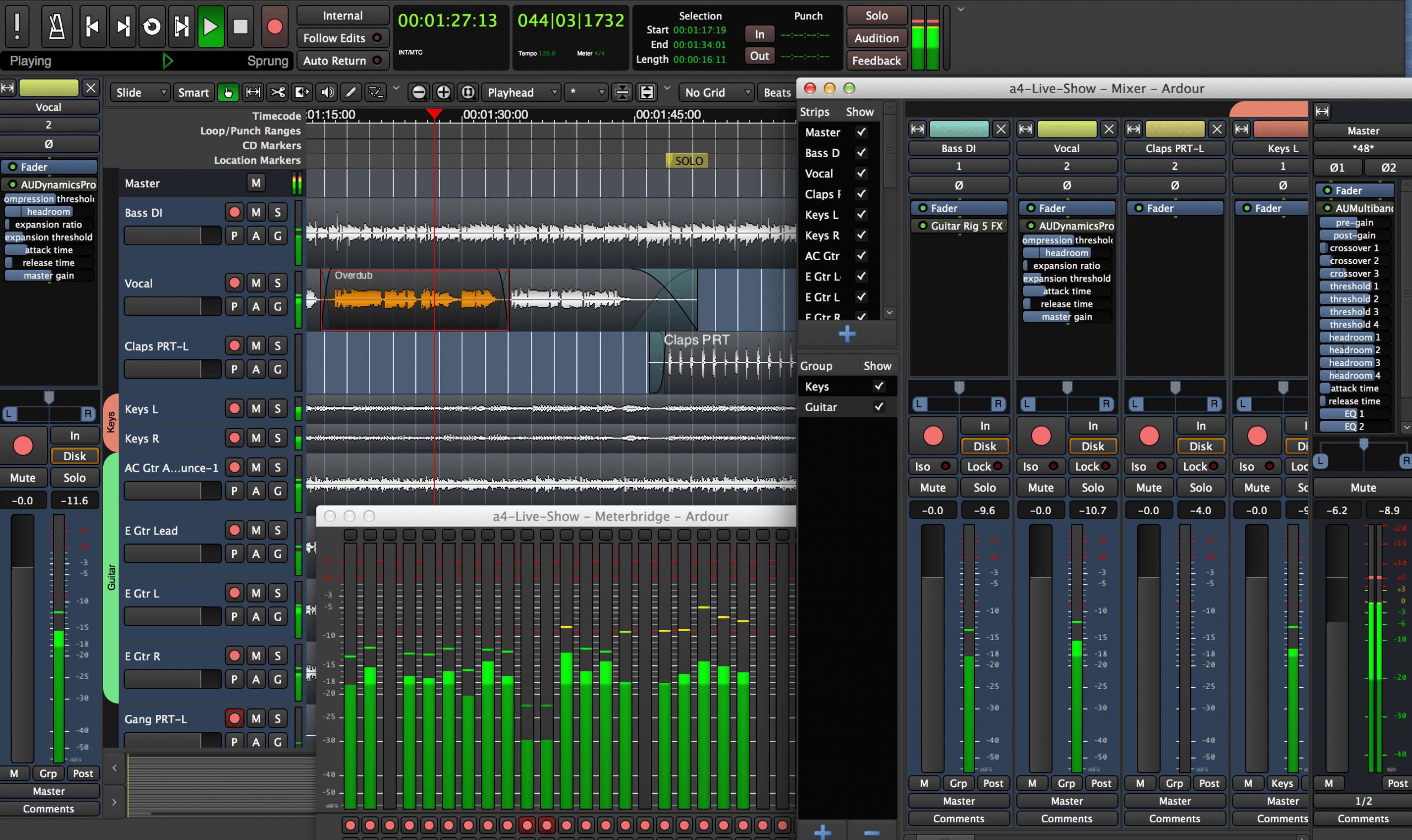 Ardour - Τα καλύτερα προγράμματα για επεξεργασία μουσικής και ήχου