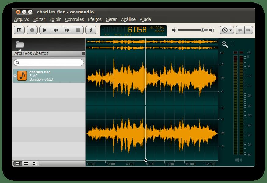 Ocenaudio - Τα καλύτερα προγράμματα για επεξεργασία μουσικής και ήχου